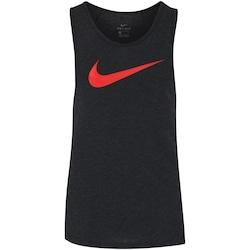 Camiseta Regata Nike Breathe Elite Top - Masculina - PRETO/VERMELHO