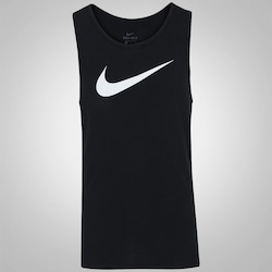 Camiseta Regata Nike Breathe Elite Top - Masculina - PRETO/BRANCO
