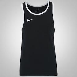 Camiseta Regata Nike Top SL Crossover - Masculina - PRETO/BRANCO