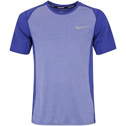 Camiseta Nike Dry Miler Top - Masculina - ROXO