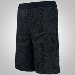 Bermuda de Moletom adidas FT Print - Masculina - PRETO
