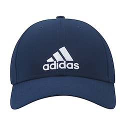 Boné Aba Curva Adidas Essential 3s Lightweight Eb - Strapback - Adulto -  Azul Esc  d4e3497eacd