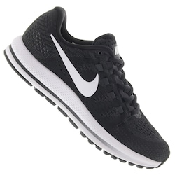 Tênis Nike Air Zoom Vomero 12 - Feminino - PRETO/BRANCO