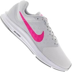Tênis Nike Downshifter 7 - Feminino - BRANCO/ROSA