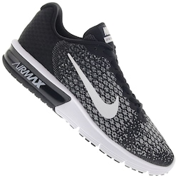 Tênis Nike Air Max Sequent 2 - Masculino - PRETO/BRANCO