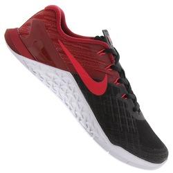 Tênis Nike Metcon 3 - Masculino - PRETO/VERMELHO