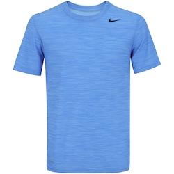 Camiseta Nike Breathe Training - Masculina - AZUL CLARO