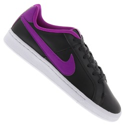 Tênis Nike Court Royale Feminino - Infantil - CINZA ESC/ROXO