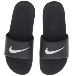 Chinelo Nike Kawa - Slide - Masculino - PRETO/BRANCO