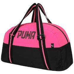 Mala Puma Fundamentals Sports - Feminina - ROSA/PRETO