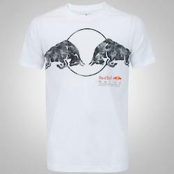 Camiseta Puma Red Bull Racing Graphic - Masculina - BRANCO