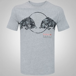 Camiseta Puma Red Bull Racing Graphic - Masculina - CINZA CLARO