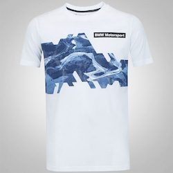 Camiseta Puma BMW Motorsport Graphic - Masculina - BRANCO