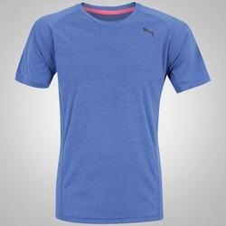 Camiseta Puma Nightcat SS - Masculina - AZUL