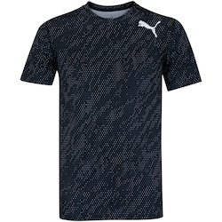 Camiseta Puma Essential Tech Graphic - Masculina - PRETO