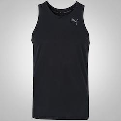 Camiseta Regata Puma Core Run Singlet - Masculina - PRETO