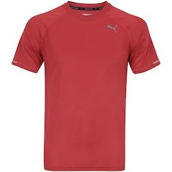 Camiseta Puma Core Run SS - Masculina - VERMELHO