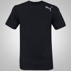 Camiseta Puma Essential SS - Masculina - PRETO