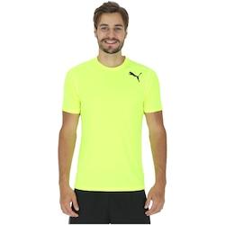 Camiseta Puma Essential SS - Masculina - VERDE CLARO