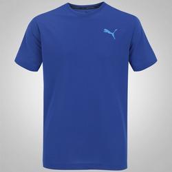 Camiseta Puma Active - Masculina - AZUL ESCURO