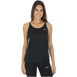 Camiseta Regata Nike Dry Miler - Feminina - PRETO
