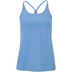 Camiseta Regata Nike Dry Miler - Feminina - AZUL CLARO