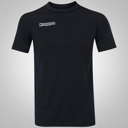 Camiseta Kappa Shangai 17 - Masculina - PRETO