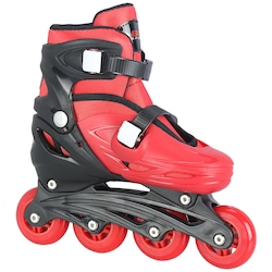 patins-bel-sports-radical-in-line-fitness-ajustavel-infantil-vermelho-preto