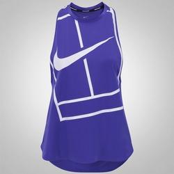 Camiseta Regata Nike Court Tank Baseline - Feminina - AZUL