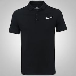 Camisa Polo Nike Court Dry Team - Masculina - PRETO