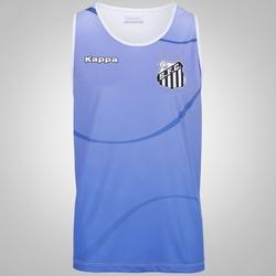 Camiseta Regata do Santos 2017 Kappa Dalmo - Masculina - AZUL