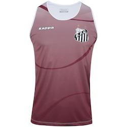 Camiseta Regata do Santos 2017 Kappa Dalmo - Masculina - VINHO