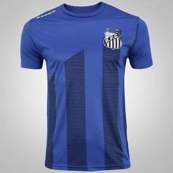Camiseta do Santos 2017 Brandal Kappa - Masculina - AZUL