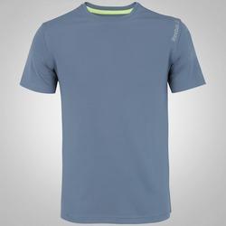 Camiseta Reebok Run B - Masculina - CINZA
