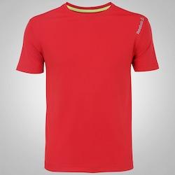 Camiseta Reebok Run B - Masculina - VERMELHO