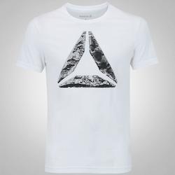 Camiseta Reebok Break e Build - Masculina - BRANCO