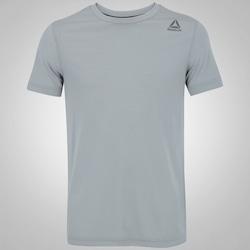 Camiseta Reebok EL SL Classic - Masculina - CINZA CLARO