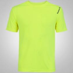 Camiseta Reebok Run BP - Masculina - VERDE CLARO