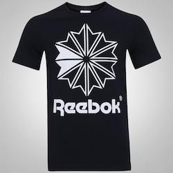 Camiseta Reebok Starcrest Foil GR - Masculina - PRETO