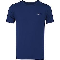 Camiseta Mizuno Run Tech - Masculina - AZUL ESCURO
