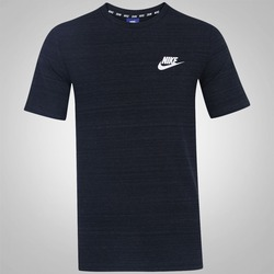 Camiseta Nike NSW AV15 Knit Top SS - Masculina - PRETO