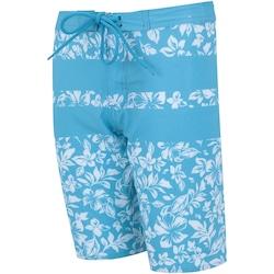 Bermuda Oxer Boardshorts Drop Boys - Infantil - AZUL CLA/BRANCO