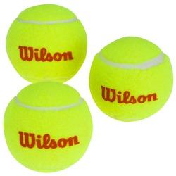 Bola de Tênis Wilson Starter LR - com 3 Unidades - AMARELO