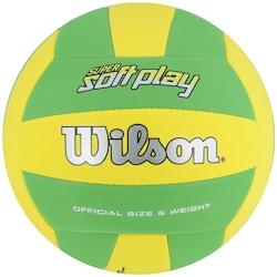 Bola de Vôlei Wilson Super Soft Play - Amarelo/Verde