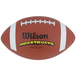 Bola de Futebol Americano Wilson TN Oficial - LARANJA ESCURO