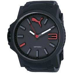 Relógio Analógico Puma 96294G0P - Unissex - PRETO/VERMELHO