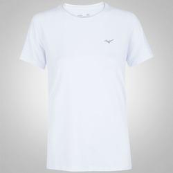 Camiseta Mizuno Run Tech - Feminina - BRANCO