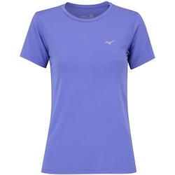 Camiseta Mizuno Run Tech - Feminina - ROXO CLARO