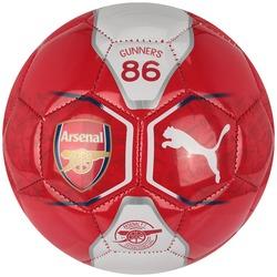 Minibola de Futebol de Campo Arsenal Puma - VERMELHO/BRANCO