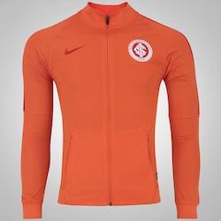 Jaqueta do Internacional 2017 Nike - Masculina - Laranja Esc/Vermelho